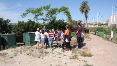 Photo of #Novelda: Visita a los Ecohuertos Municipales para cerrar la educación escolar medioambiental