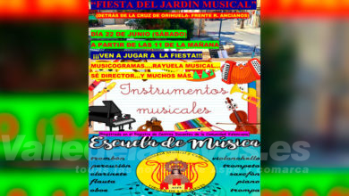Photo of #Aspe: La Sociedad Musical Virgen de la Nieves celebra la fiesta del Jardín de la Música