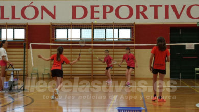 Photo of #Aspe: El Club Bádminton Aspe celebra el quinto open de verano
