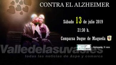 Photo of #Aspe: Aspe contra Alzheimer organiza la gala benéfica 2019