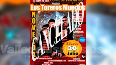 Photo of #Novelda: Cancelado el concierto de Los Toreros Muertos
