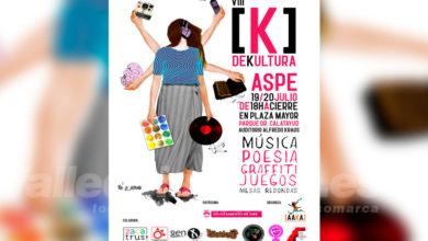 Photo of #Aspe: AAKA organiza la octava edición de K de Kultura