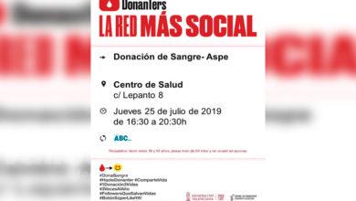 Photo of #Aspe: Se necesitan más donantes de sangre por el aumento de la demanda