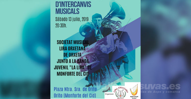 Photo of #Monforte: Concierto de «Intercambios Musicales» de la Banda Juvenil