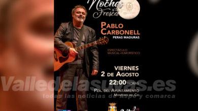 """Photo of #Monforte: El músico y humorista Pablo Carbonell abrirá las """"Noches a la Fresca"""""""