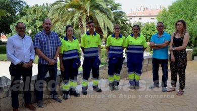 Photo of #Petrer refuerza el servicio de mantenimiento de parques y jardines durante el verano