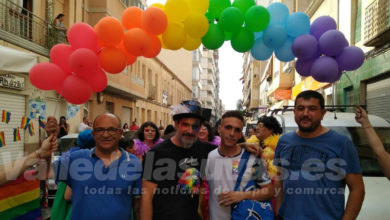 Photo of #Aspe: Podemos participó en el desfile comarcal LGTBI+