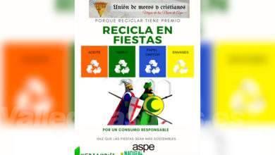 Photo of #Aspe potenciará el reciclaje durante las fiestas patronales