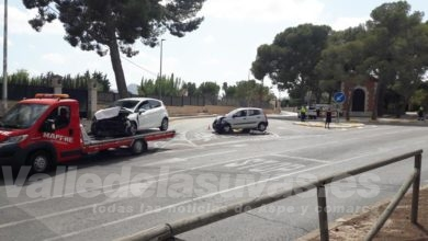 "Photo of #Aspe: Accidente en el cruce de ""La Columna"" de Aspe"
