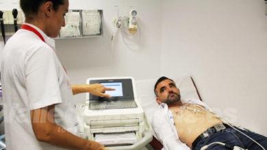 Photo of #Comarca: Chequeo en el Hospital del Vinalopó a Daniel Albero, primer diabético en el Dakar