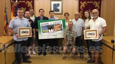 Photo of #Aspe: El cupón de la ONCE del 7 agosto llevará una imagen de la Embajada festera
