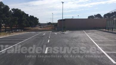 Photo of #Aspe: Recepcionan las obras del parking del Pabellón Deportivo