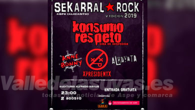 Photo of #Aspe: El Auditorio acoge el V Sekarral Rock