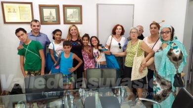 Photo of #Aspe: El alcalde recibe a los niños saharauis acogidos este verano por familias aspenses