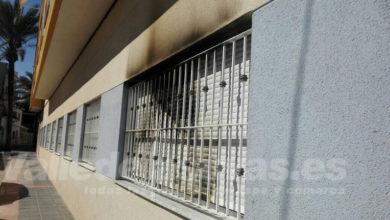 Photo of #Aspe: Arde la fachada de una vivienda en la calle Santa Faz