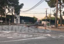 Photo of #Aspe: Caen dos pinos frente a la Casica de la Virgen