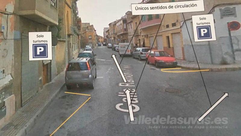 Proyecto Reurbanización calle Ramón y Cajal