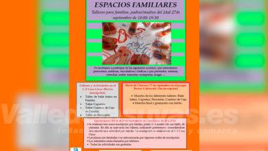 """Photo of #Aspe: Vuelven los talleres de """"Espacios Familiares"""""""