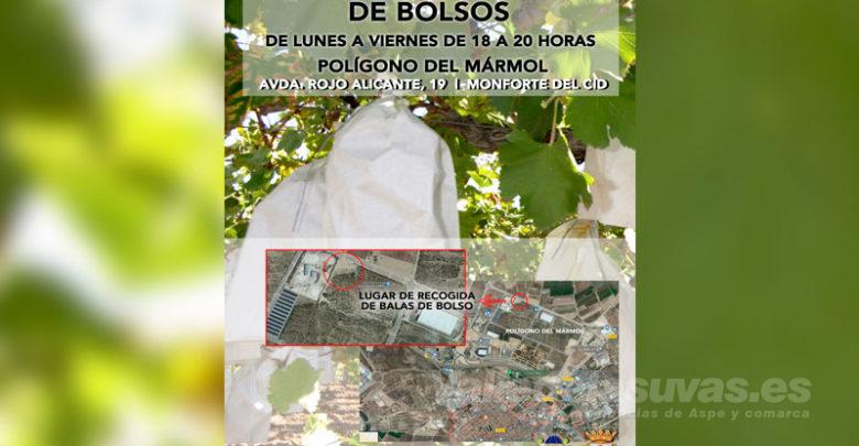 Photo of #Monforte: Ponen en marcha el servicio de recogida de bolsos 2019/2020