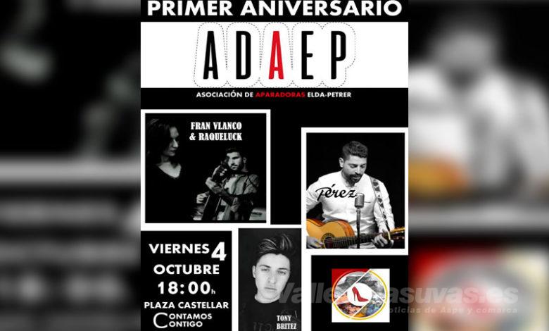 Photo of #Comarca: Las aparadoras de Elda y Petrer celebran con música el primer aniversario de ADAEP
