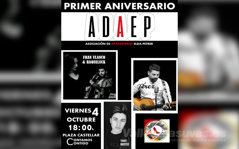 Cartel aniversario ADAEP