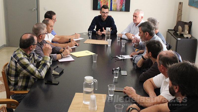 Fran Martínez se reúne con los sindicatos