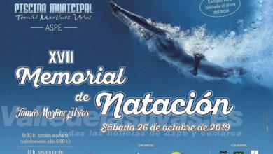 Photo of #Aspe acoge de nuevo el memorial de natación Tomás Martínez Urios