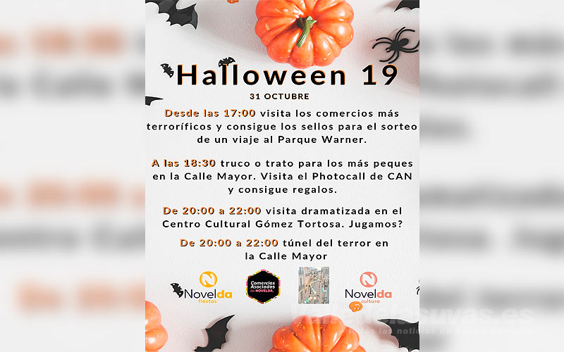 Halloween en Novelda