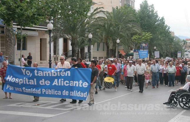 Plataforma Salud Publica Aspe Marcha