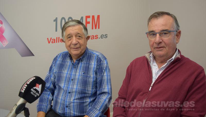 Antonio Sánchez y Pepe Alenda