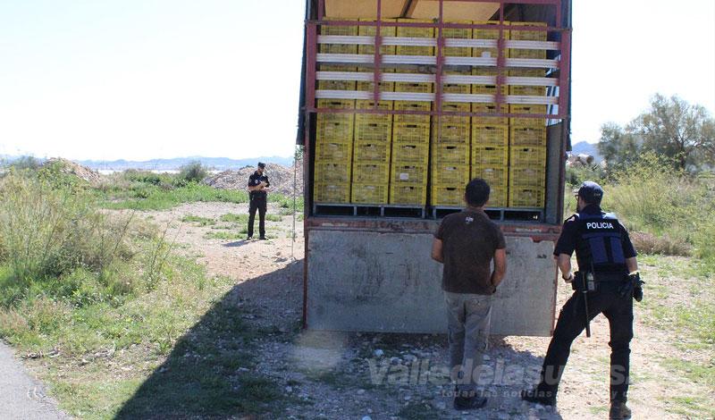 Vigilancia rural en Novelda
