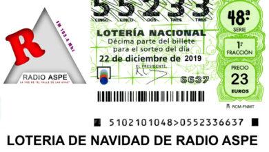 Photo of #Aspe: La lotería del Valle de las Uvas ya está disponible