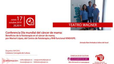 Photo of #Aspe: Charla, almuerzo saludable y un manifiesto por el día del cáncer de mama