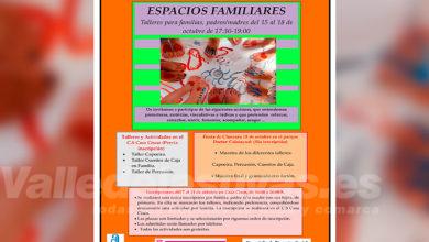 Photo of #Aspe: Vuelven los Espacios Familiares para padres y madres