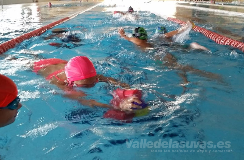 Cursos de natación Aspe