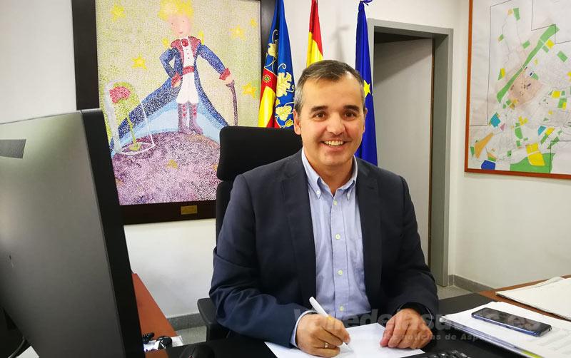 Antonio Puerto Alcalde de Aspe