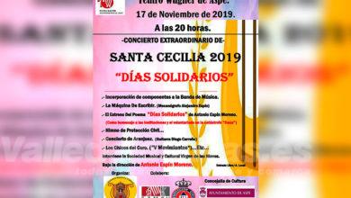 Photo of #Aspe: La Sociedad Musical Virgen de las Nieves ofrece el concierto 'Días Solidarios' por Santa Cecilia