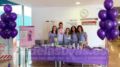 Photo of #Comarca: Batidos morados como símbolo contra la violencia de género en el Hospital del Vinalopó