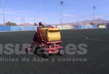 Photo of #Aspe: Deportes introduce mejoras en los campos de fútbol de Aspe