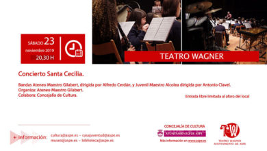 Photo of #Aspe: El Ateneo Maestro Gilabert incorpora a 14 nuevos músicos por Santa Cecilia