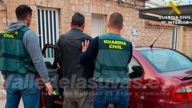 Photo of #Aspe: Detienen a un vecino de Aspe como presunto autor de diversos robos con intimidación en comercios