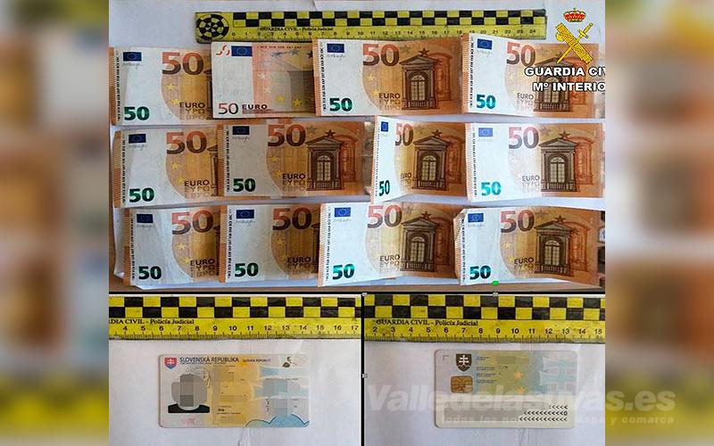 Dinero Guardia Civil