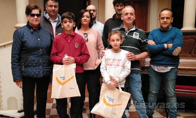 Photo of #Novelda: Dos escolares, premiados en el Concurso de Dibujo Infantil de Aqualia