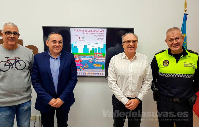 Elda celebra el Día de la Seguridad Vial