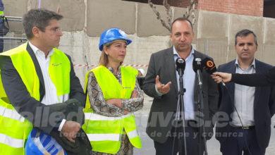Photo of #Aspe: El conseller Rubén Martínez Dalmau visita las obras de 42 viviendas sociales