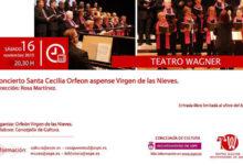 Photo of #Aspe: El Orfeón Virgen de las Nieves ofrece el 27º concierto de Santa Cecilia