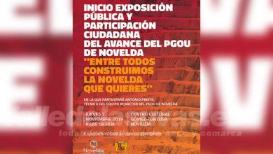 Photo of #Novelda: El avance del PGOU se abre a la participación ciudadana