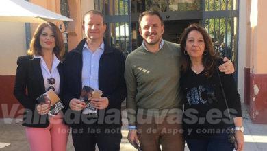 Photo of #Aspe: Pablo Ruz, Mari Ángeles Quiles y Adela Pedrosa, apuestan en Aspe por Pablo Casado