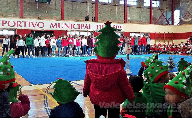 Villancicos colegio Vistahermosa Pabellon