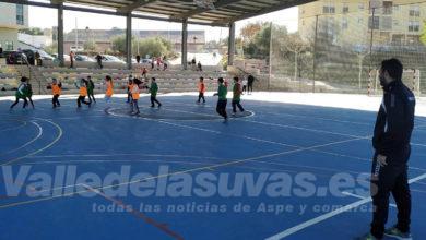Photo of #Aspe: Jornada de Colpbol en el Pabellón Deportivo con las Escuelas Municipales